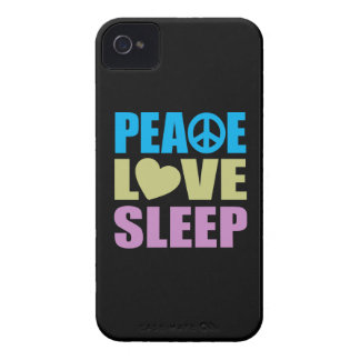 Peace Love Sleep Case-Mate iPhone 4 Case
