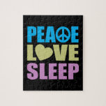 Peace Love Sleep Puzzles