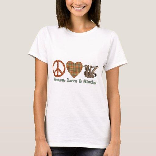 Peace, Love & Sloths T-Shirt