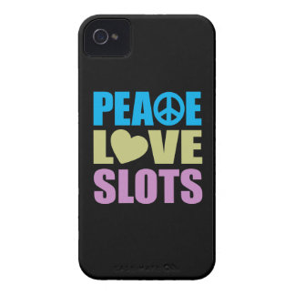 Peace Love Slots iPhone 4 Cover