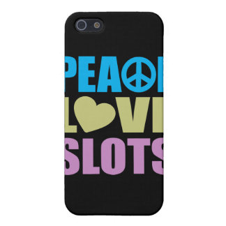 Peace Love Slots Case For iPhone 5