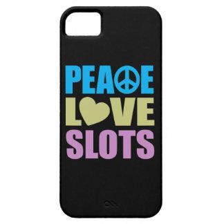 Peace Love Slots iPhone SE/5/5s Case