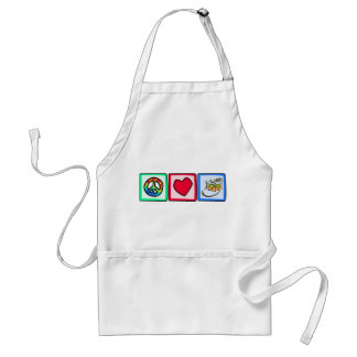 Peace, Love, Snare Drum Apron