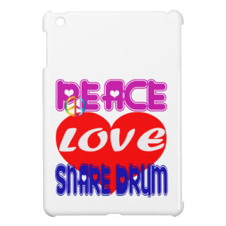 Peace Love Snare Drum Cover For The iPad Mini