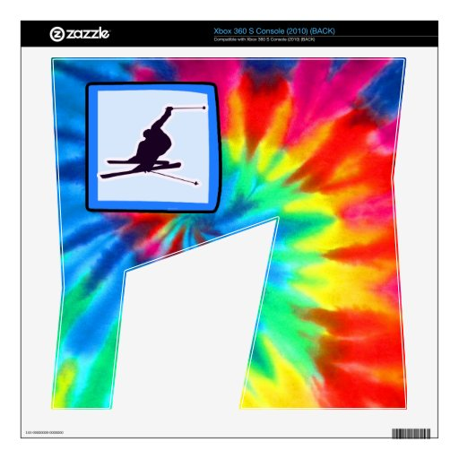Peace, Love, Snow Skiing Skin For Xbox 360 S