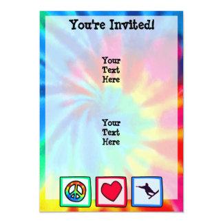 Peace, Love, Snowboarding Card