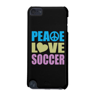 Peace Love Soccer iPod Touch (5th Generation) Covers