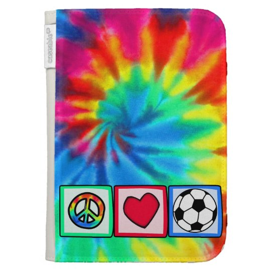 Peace, Love, Soccer Kindle Cover