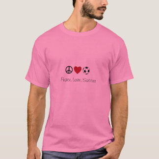 Peace.Love.Soccer T-Shirt