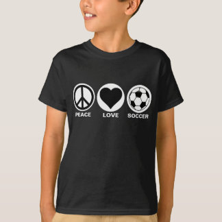 Peace/Love/Soccer T-Shirt