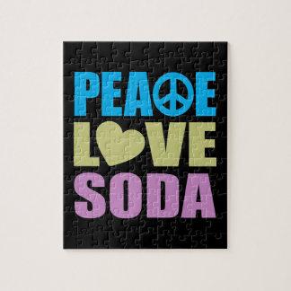 Peace Love Soda Jigsaw Puzzle