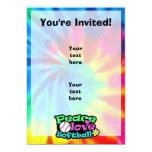 "Peace, Love, Softball 5"" X 7"" Invitation Card"