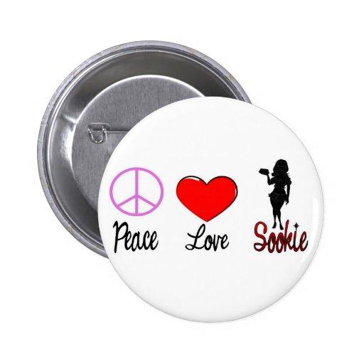 peace love sookie pin
