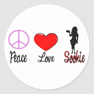 peace love sookie stickers