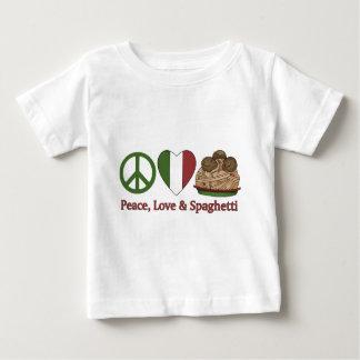 Peace, Love & Spaghetti T-shirts