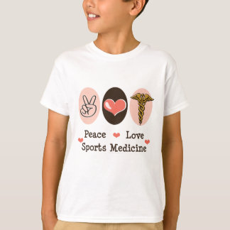 Peace Love Sports Medicine Kids Tee Shirt