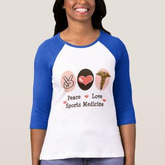 Peace Love Sports Medicine Raglan Tshirt