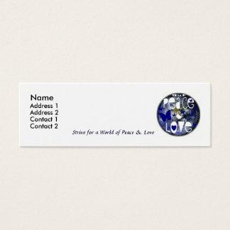 Peace & Love - Spread the Word - Profile Card