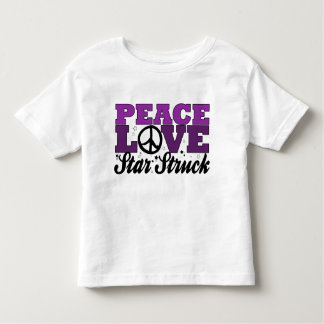 Peace, Love & Star Struck Dance! Toddler T-shirt