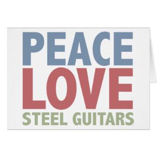 Peace Love Steel Guitars Cards