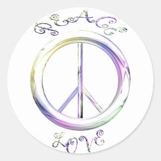 peace love stickers