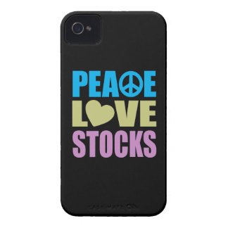 Peace Love Stocks iPhone 4 Cases