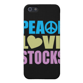 Peace Love Stocks Case For iPhone 5/5S