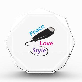 PEACE LOVE STYLE AWARD