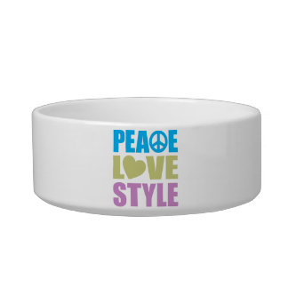 Peace Love Style Bowl
