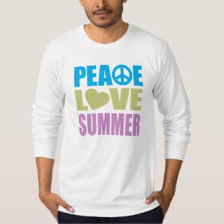 Peace Love Summer T Shirt