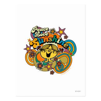 Peace Love Sunshine Postcard