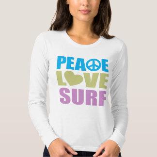 Peace Love Surf T Shirts