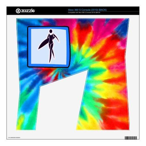 Peace, Love, Surfer Girls Xbox 360 S Skin