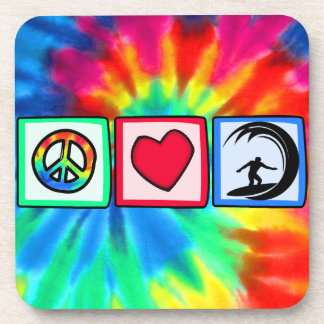 Peace, Love, Surfing Coaster