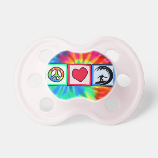 Peace, Love, Surfing Pacifiers