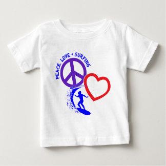 PEACE-LOVE-SURFING POLERA
