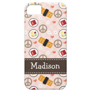 Peace Love Sushi iPhone SE/5/5s Case