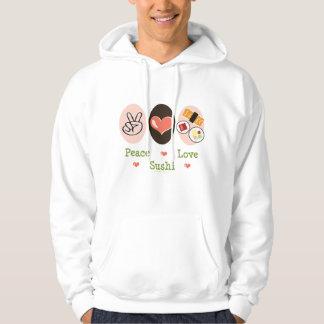 Peace Love Sushi Sweatshirt