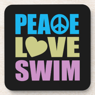 Peace Love Swim Coaster