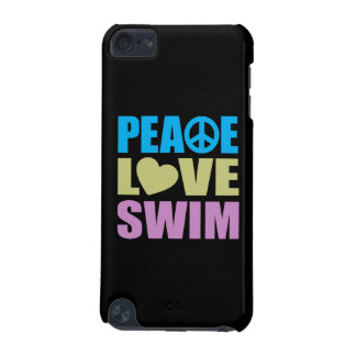 Peace Love Swim iPod Touch 5G Cover
