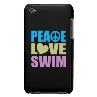 Peace Love Swim iPod Touch Case