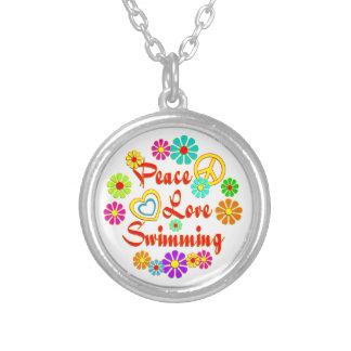 PEACE LOVE Swimming Pendants