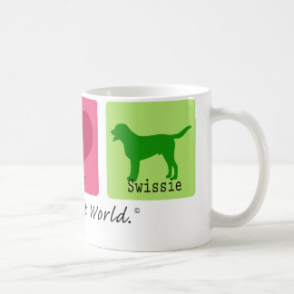 Peace Love Swissie Coffee Mug
