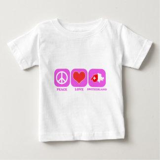 Peace Love Switzerland Tee Shirt
