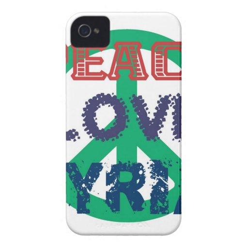 peace love syria iPhone 4 Case-Mate case