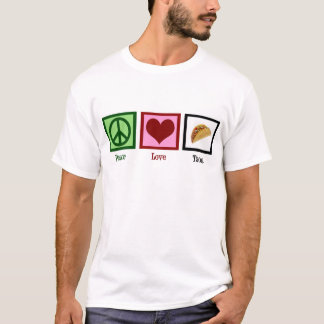 Peace Love Tacos T-Shirt