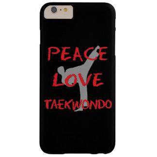 Peace Love Taekwondo Barely There iPhone 6 Plus Case