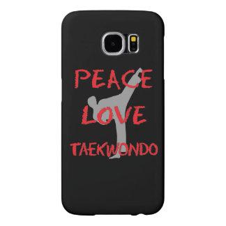 Peace Love Taekwondo Samsung Galaxy S6 Case