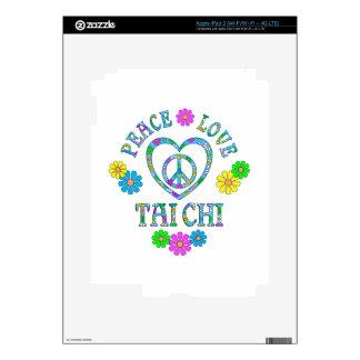 Peace Love Tai Chi iPad 3 Skin