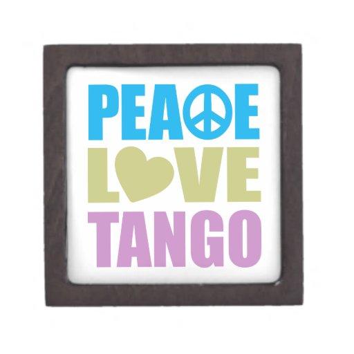 Peace Love Tango Premium Jewelry Box